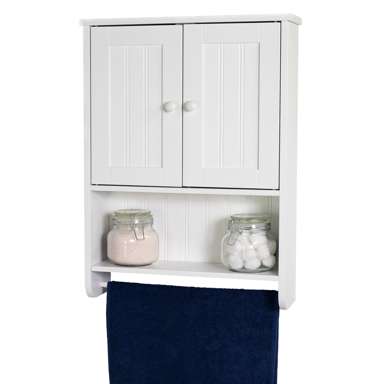 Wall Mount White Bathroom Medicine Cabinet Storage Organizer With Towel Bar Walmart Com Diy Bathroom Storage Bathroom Medicine Cabinet White Bathroom Furniture