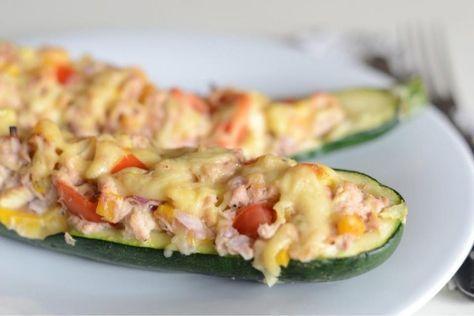 Gevulde courgette met tonijn - FOOD I LOVE
