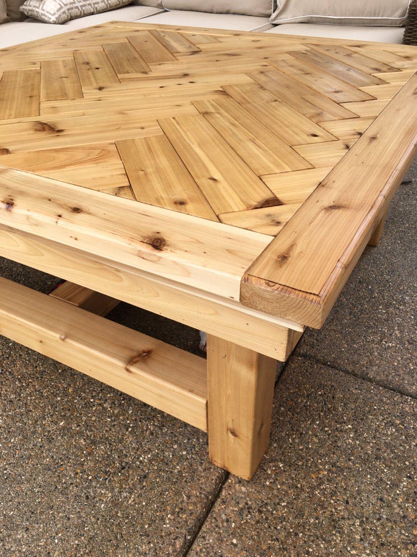 Rustic Cedar Coffee Table Etsy Rustic Furniture Outdoor Furniture Wood Furniture