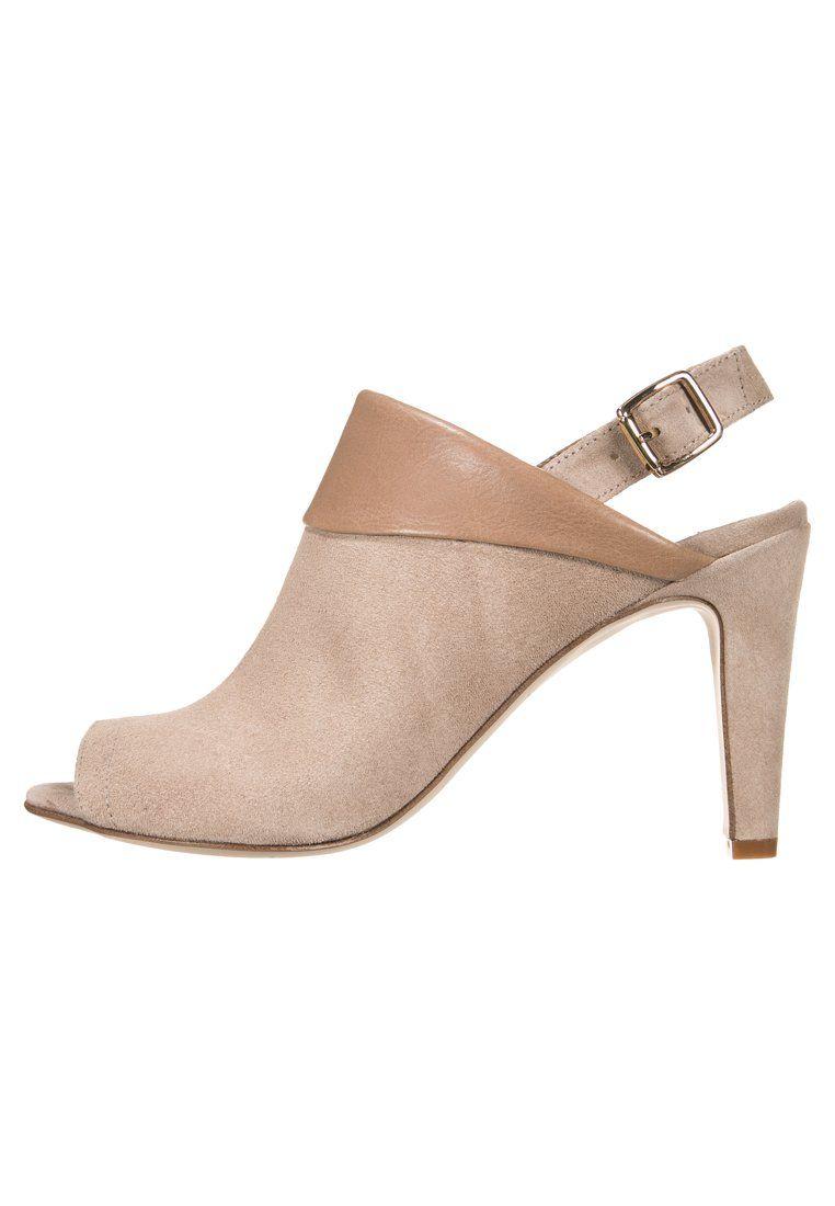1c7b205dfc67 KIOMI Højhælede sandaletter   Højhælede sandaler - beige - Zalando ...