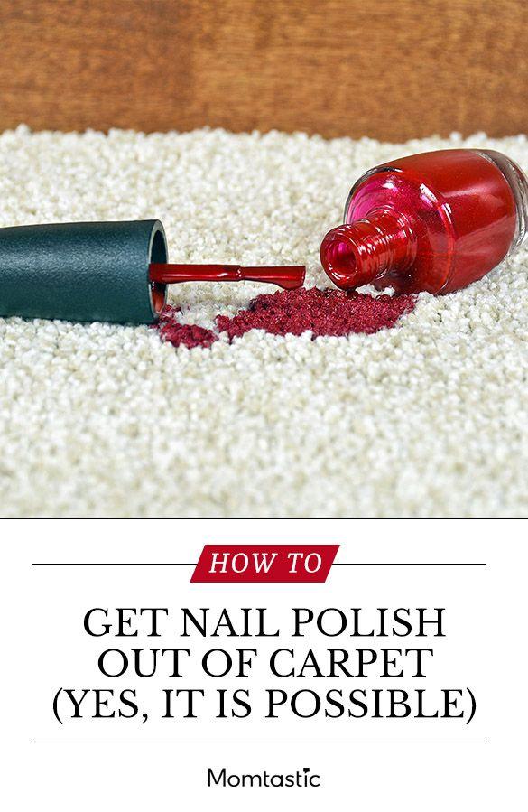 How To Get Fingernail Polish Out Of Carpet Nail Polish On Carpet Nail Polish Stain How To Clean Carpet