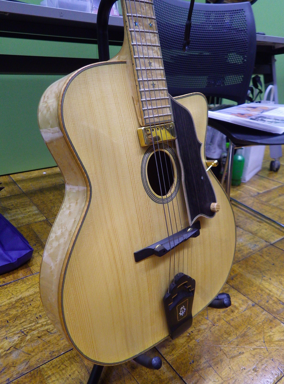 Maccaferri TYPE Archtop Shiro Tsuji tsuji shiroh Archtop GuitarAcoustic GuitarsGypsy