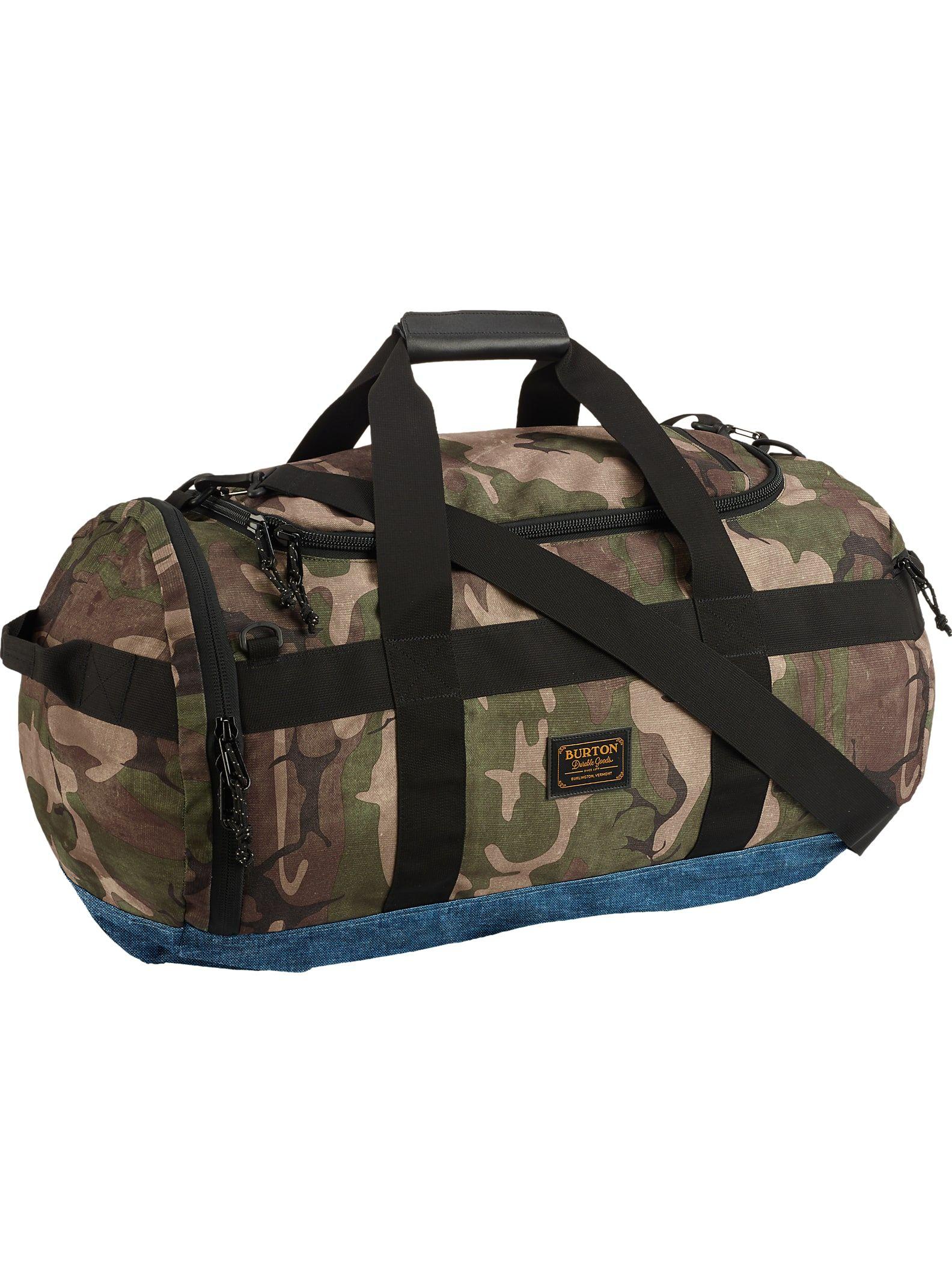 30a8d6fe85 Burton Backhill Duffel Bag Medium 70L