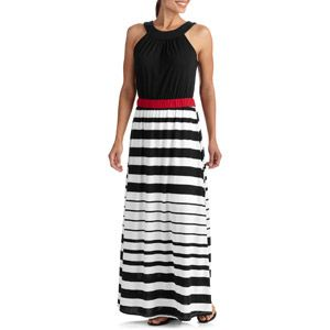 a11aff94783 Stitch Women s Gradient Stripe Maxi Dress   WALMART Women s Fashion ...