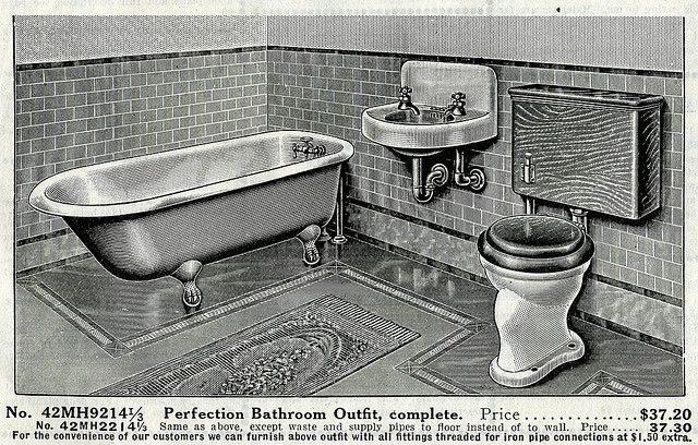 Sears Perfection Bathroom Outfit In 2019 Early 1900s