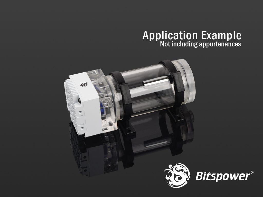 Bitspower Ddc Top Water Tank Integrated Kit 100 Acrylic Version