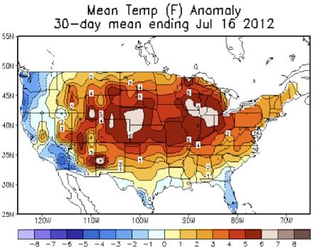 Dry Weather Boosts Odds of Extreme Heat, Study Finds - Droughts such as the one currently gripping a majority of the U.S. may dramatically increase the odds of extremely hot days, a new study found. The study, published in Proceedings of the National Academy of Sciences, explores a dynamic that is playing out right now across the country, particularly in the Great Plains, where the severe drought is priming the atmosphere in favor of an above-average number of extremely hot days.