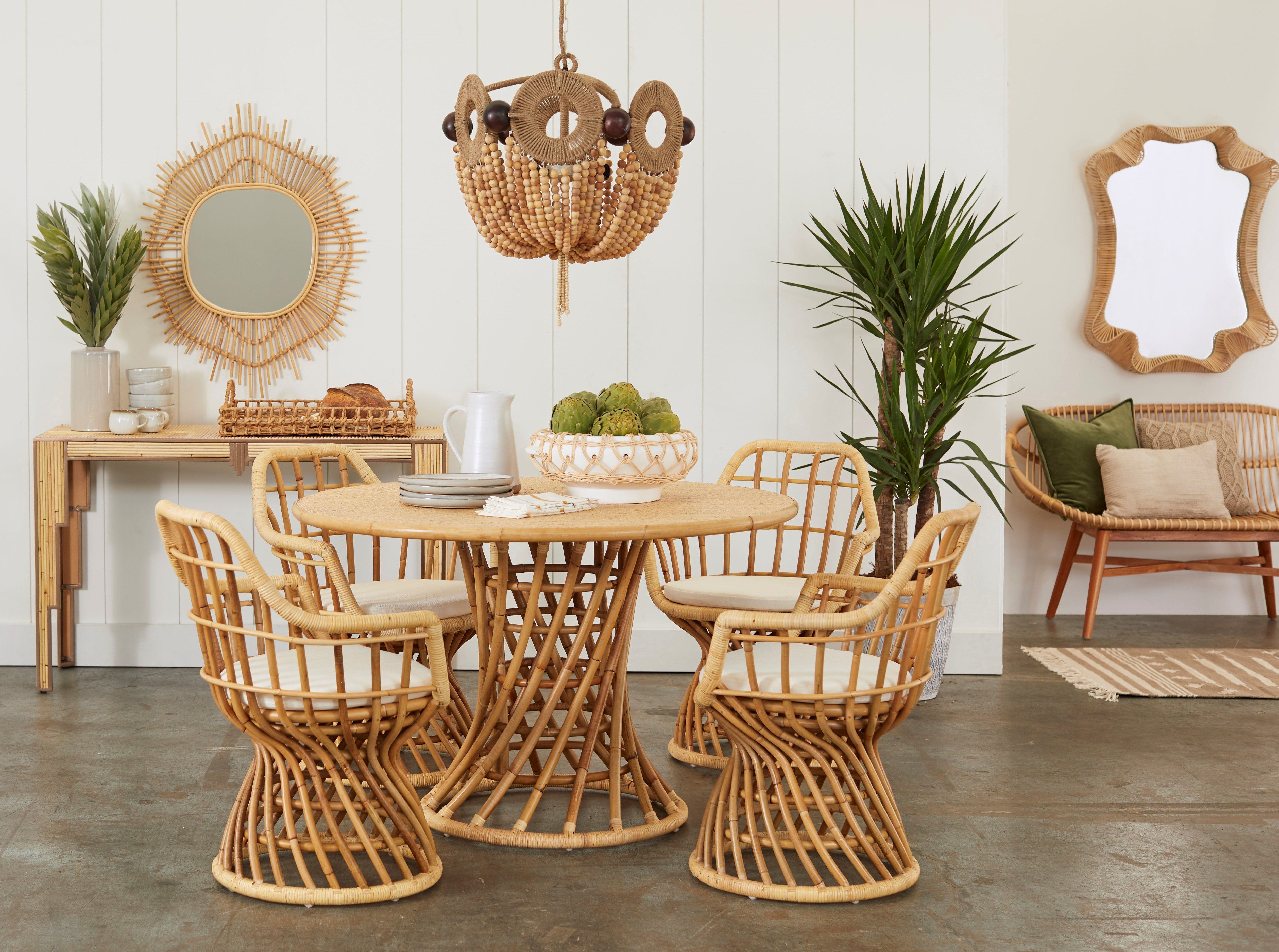 39+ Round wicker dining table and chairs Tips