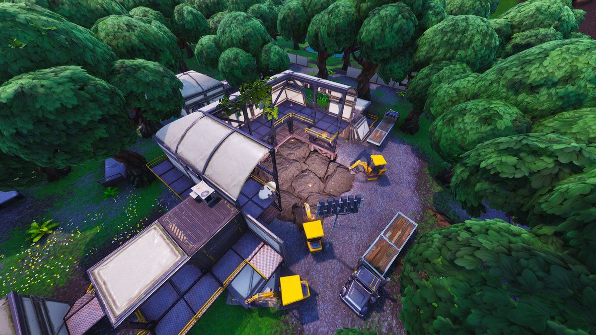 The New Fortnite Excavation/Dig Site at Dusty Divot Has