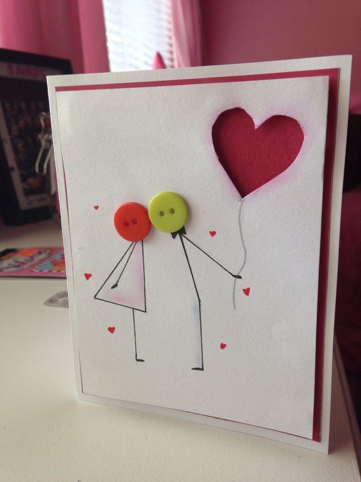 Nette Jahrestags- oder Valentinstagkarte :) - Moja strona - Niedliche Jubiläum...