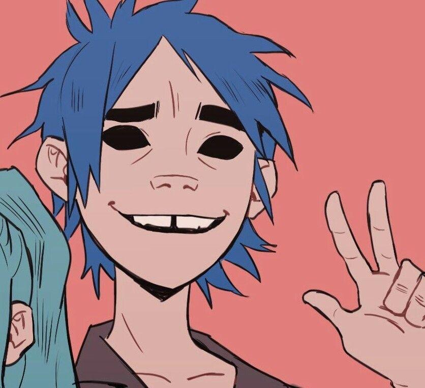 On Twitter Gorillaz Anime Matching Icons
