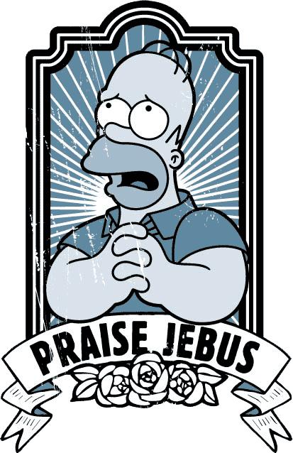 Praise Jebus #Simpsons #Homer | Los simpsons, Los simpson, Homero simpson