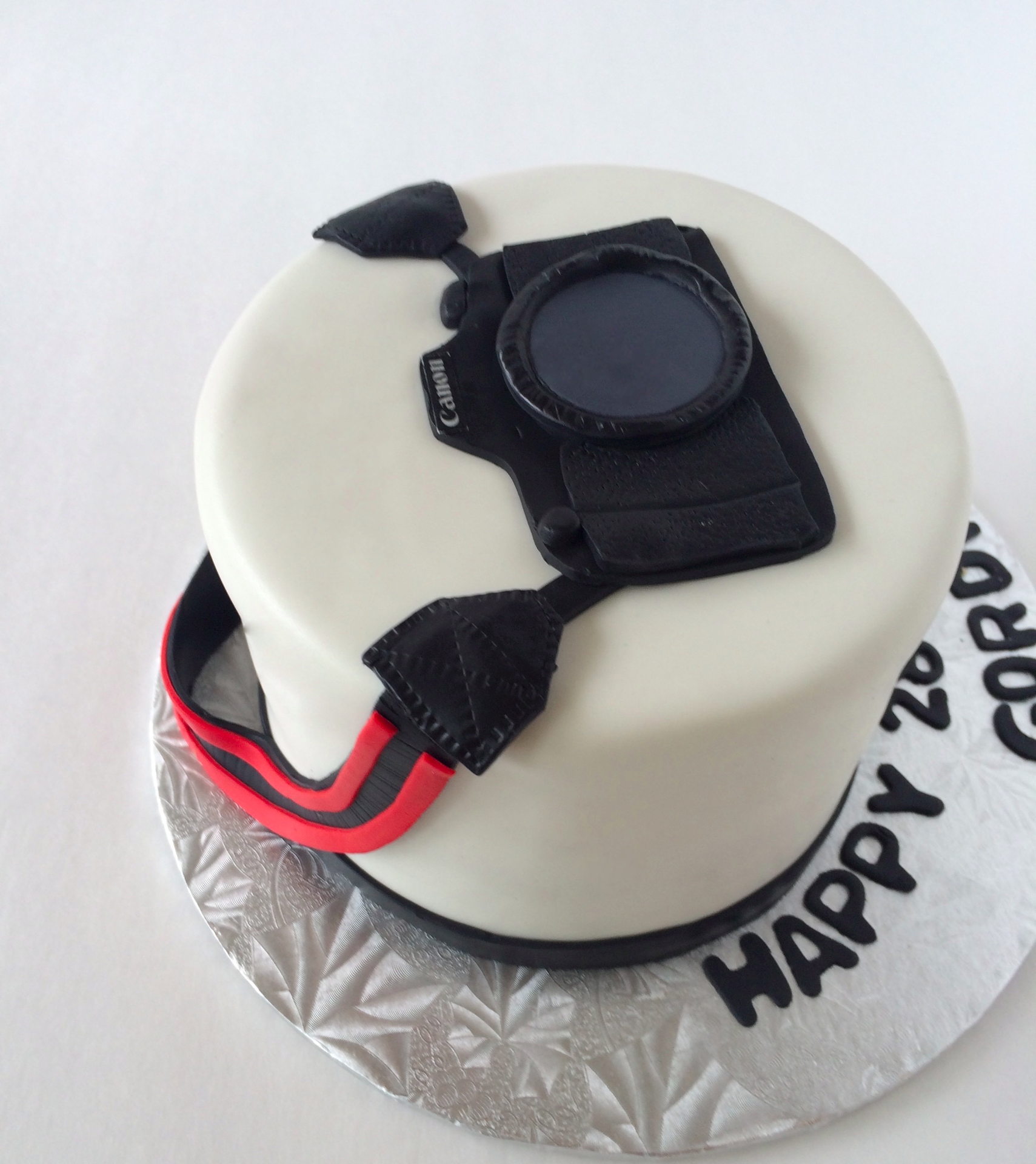 Canon Camera Cake Kuchen Pinterest Camera Cakes