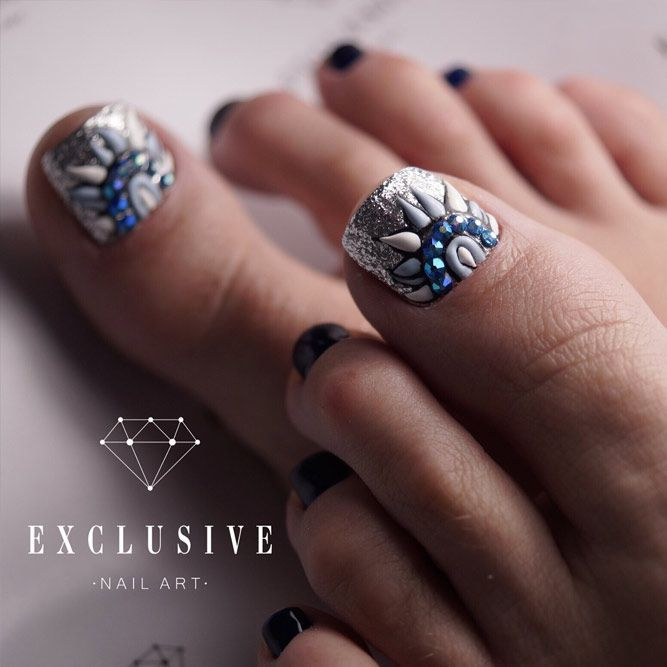 Cool New Nail Designs For Your Toes To Show Off This Season See