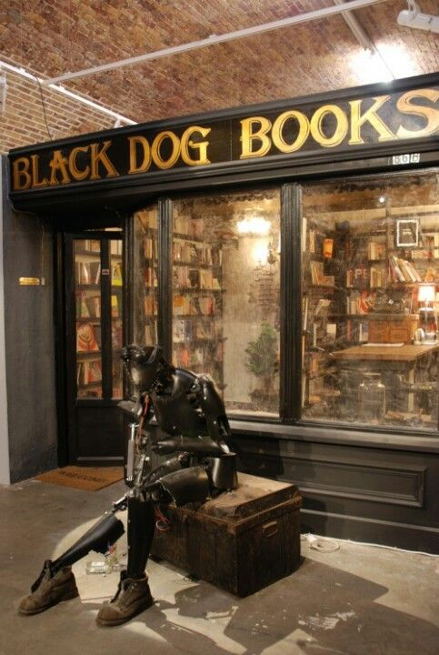 Black Dog Bookstore Londres Fachadas De Tiendas Y Libros