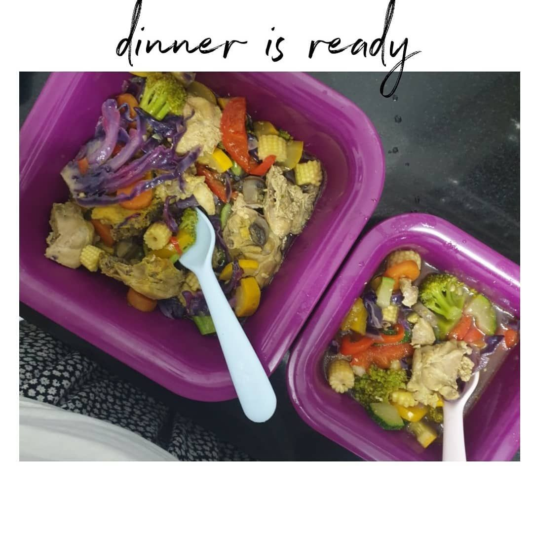 Honey! What's for dinner?? . . Eat right for a healthier you. We spend our day with a lot of hush bush so we can not plan and eat right  always. But plan a healthy option for one meal a day will surely bring a lot of healthier changes in you. . . .  3️⃣ Steps for a better you. . . Dinner inspired by @sindhurajkumar . .