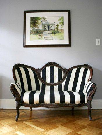 Reader Redesign Lovely Loveseat Young House Love Apartment Furniture Victorian Furniture Furniture