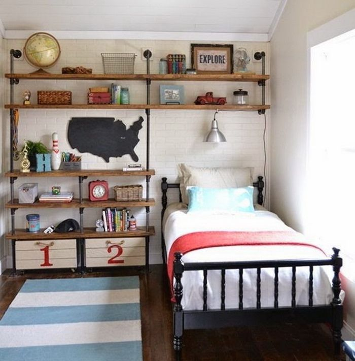20 Teenage Boys Bedroom Designs To Inspire You Cabin Pinterest