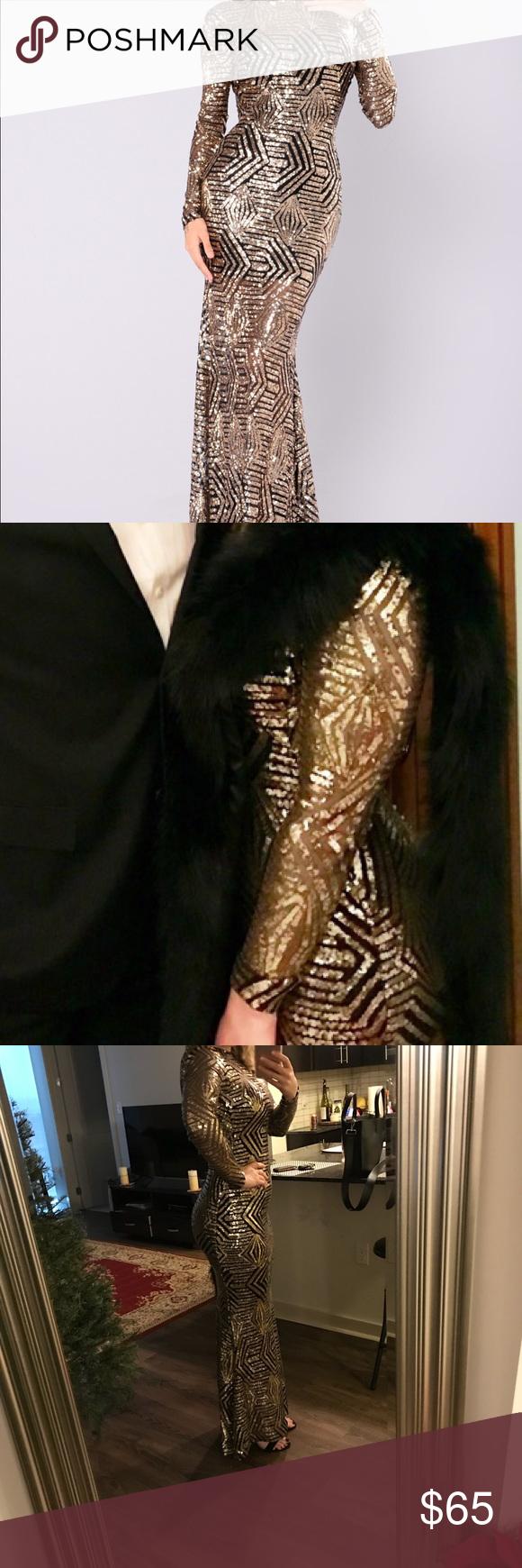 a657392ce5 Fashion Nova Emely Sequin dress Beautiful