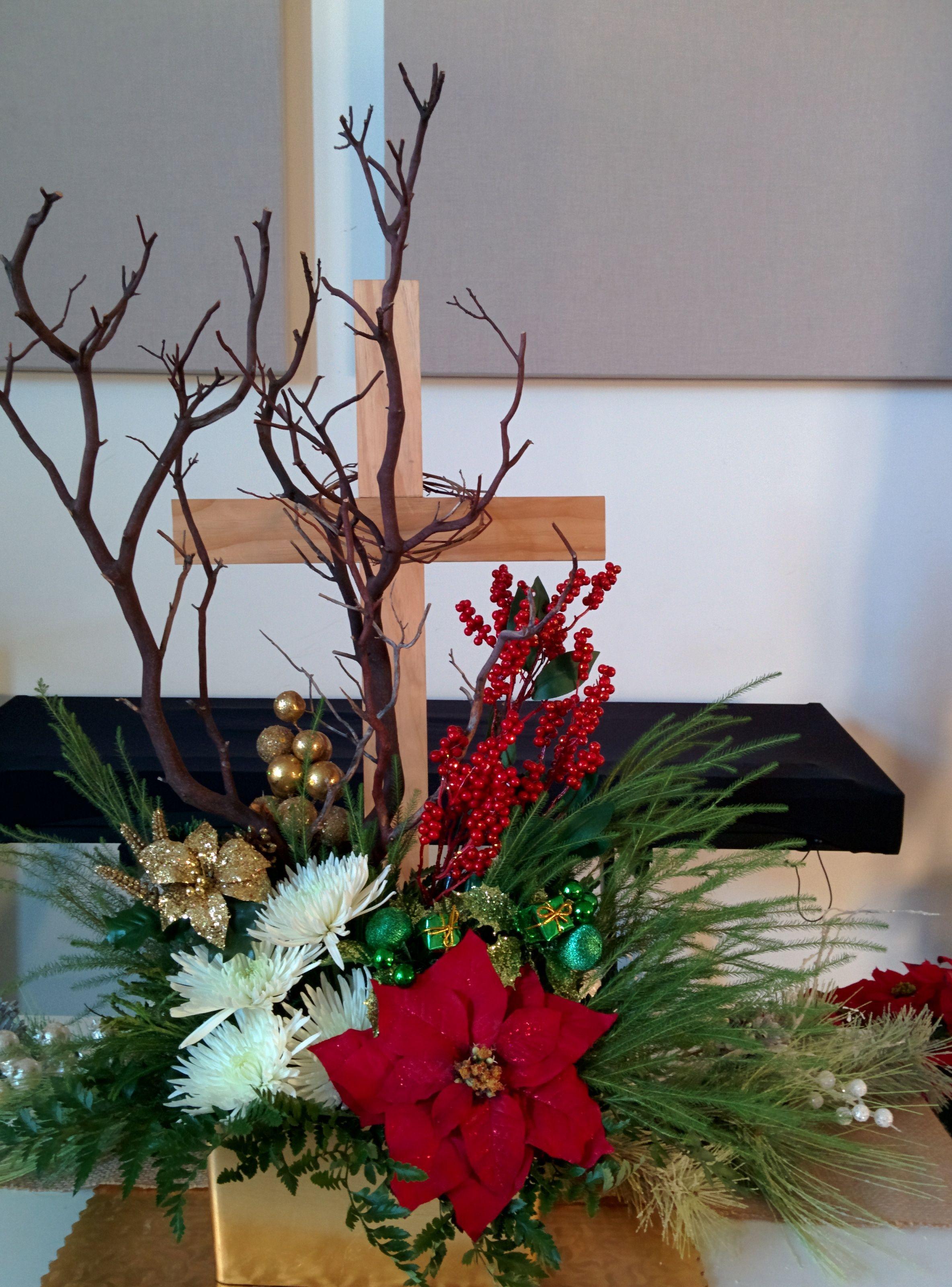 12 20 English Church Altar Decorations Christmas Wreaths Altar Decorations