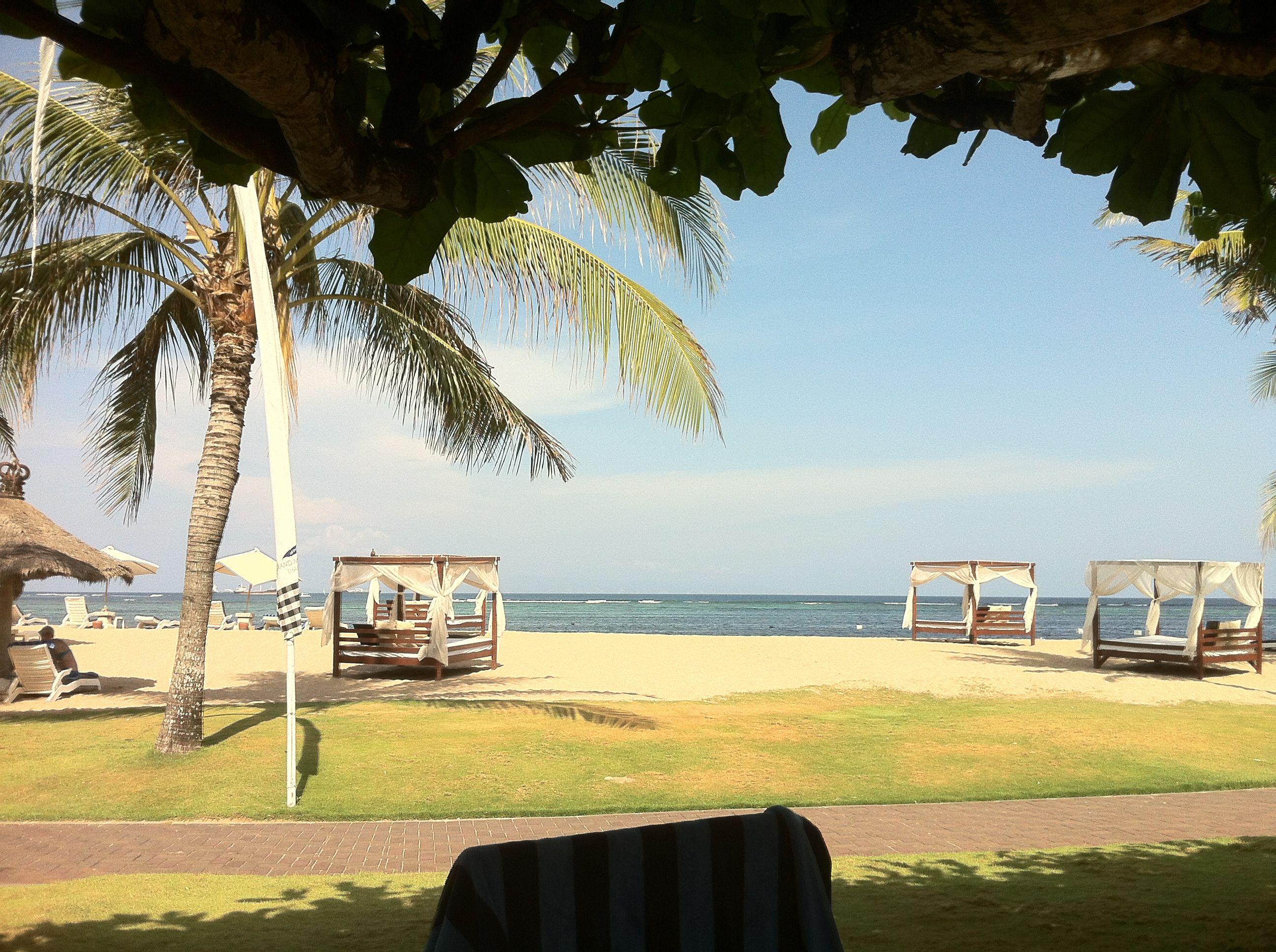 Grand Mirage Resort beach. Benoa-Bali