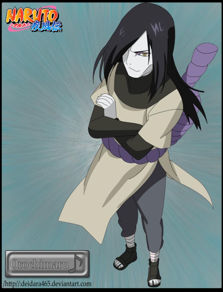 Orochimaru by ~Deidara465 on deviantART