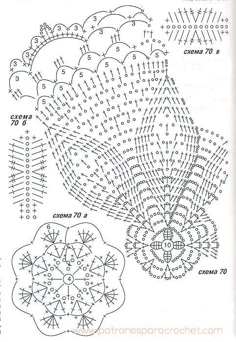 patrones-sombrero-panama.jpg (483×698) | moldes para molde ...