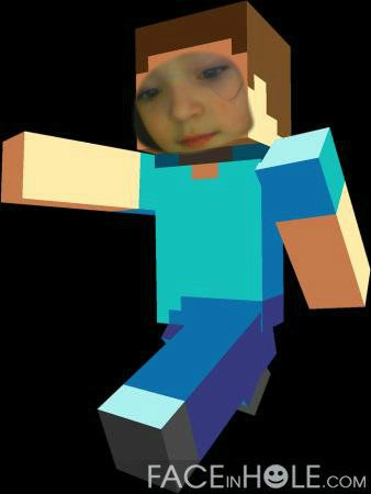 Faceinhole Minecraft Face In The Hole Minecraft