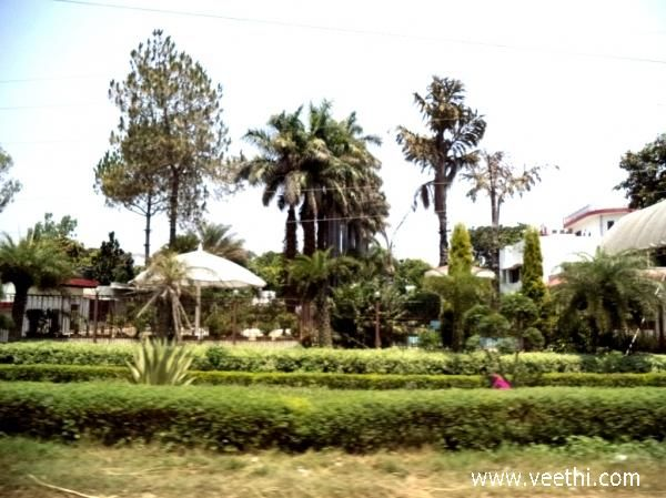 A Beautiful Park on the Way in Meerut