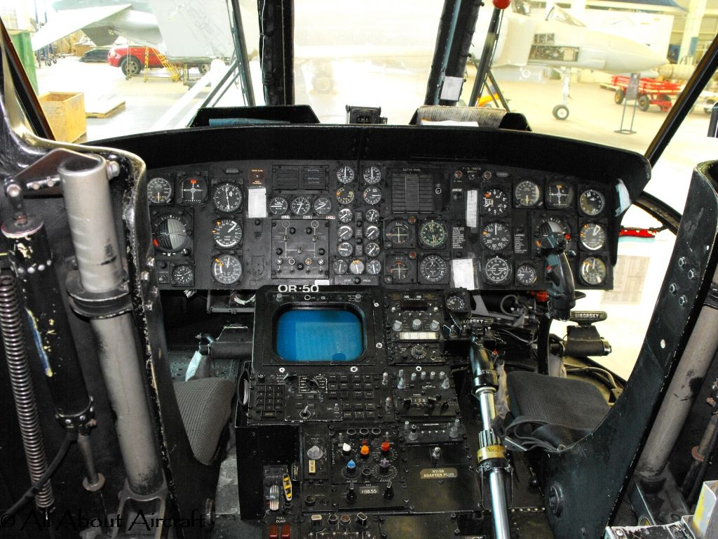 Cockpit Of An Sea King Cockpit Helicopter Ejection Seat