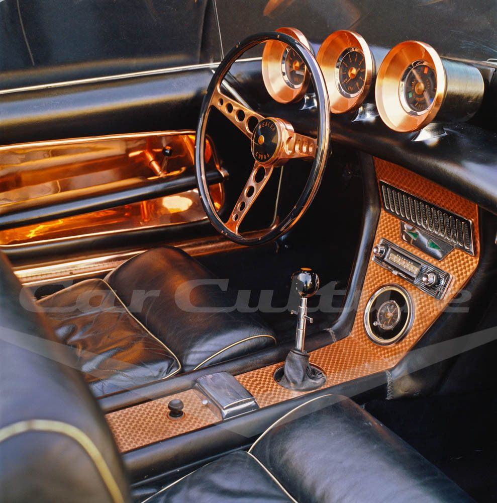 Mercer Cobra Exner Interior Limited Edition Fine Art Print