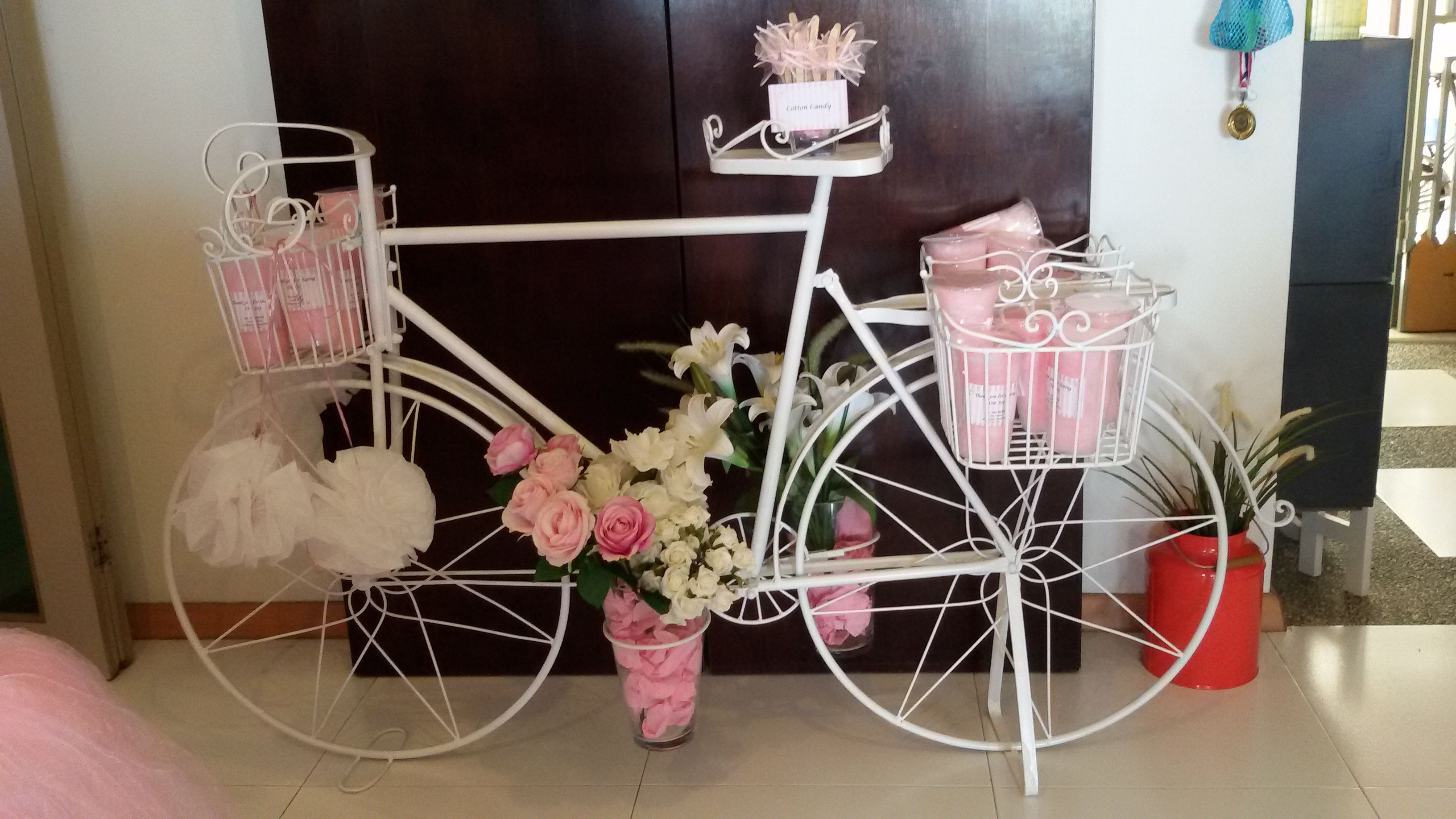 Cotton Candy Bicycle