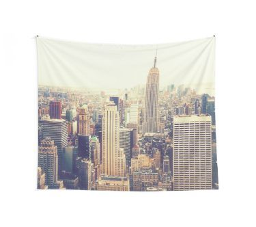 New York City Tapestry By Vivienne Gucwa Tapestry New York City New York