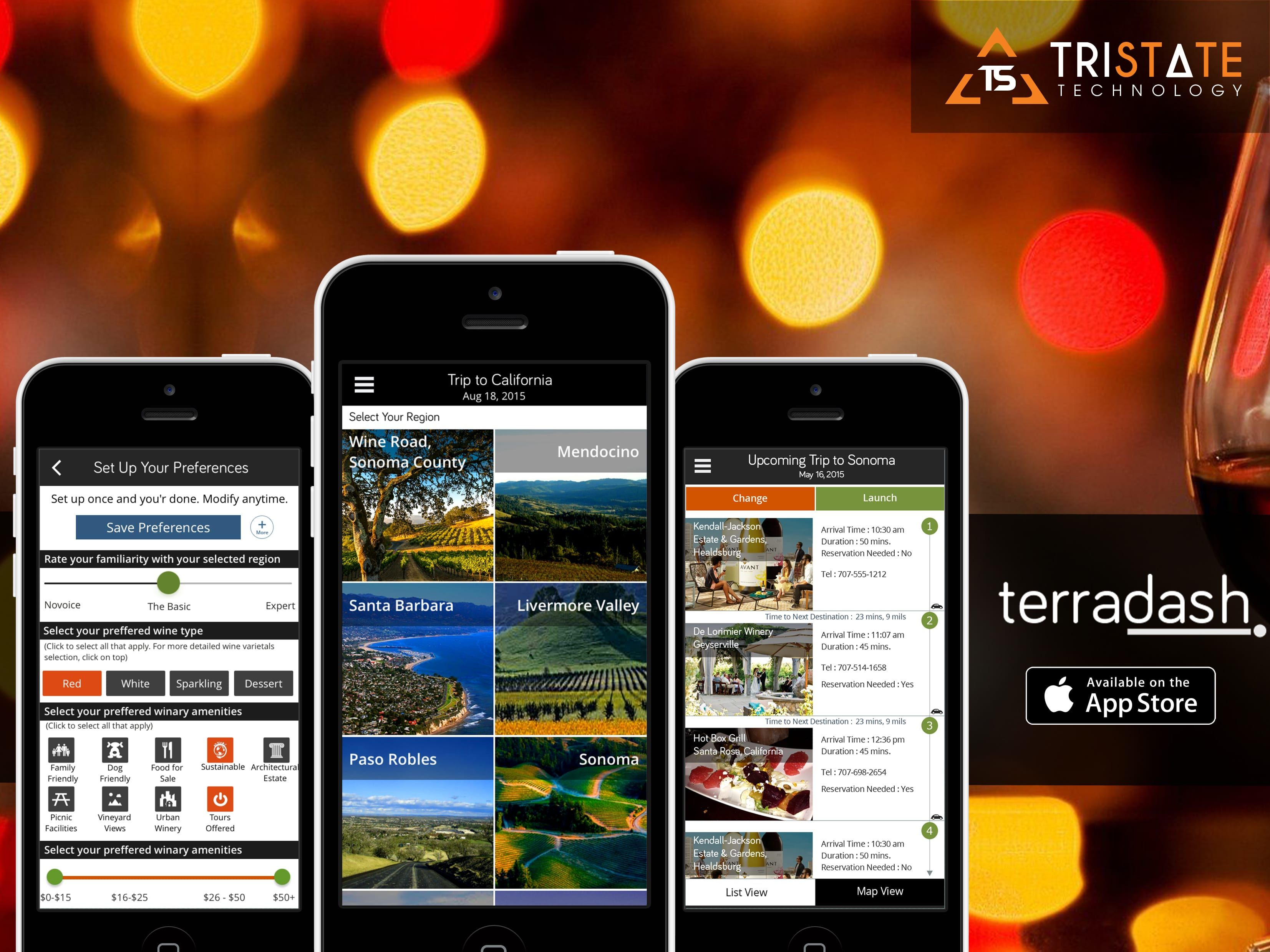 TerraDash - Android & iPhone App for Travel & Tourism