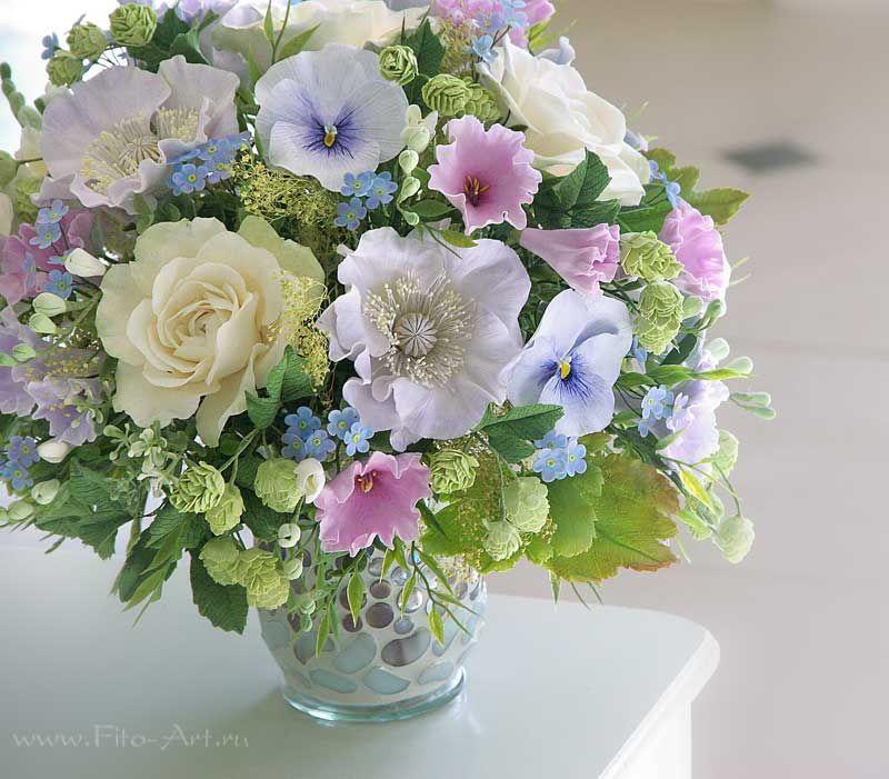 Фото букеты летних цветов