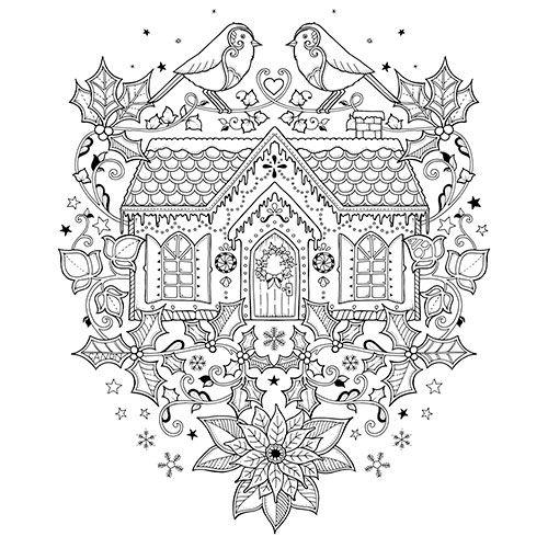 Winter Exclusive — © Johanna Basford Johanna Basford Coloring Book, Coloring  Pages, Cute Coloring Pages