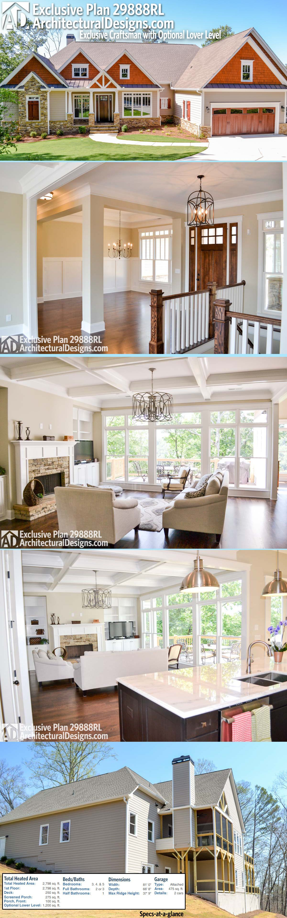 Introducing Architectural Designs Exclusive House Plan 29888RL