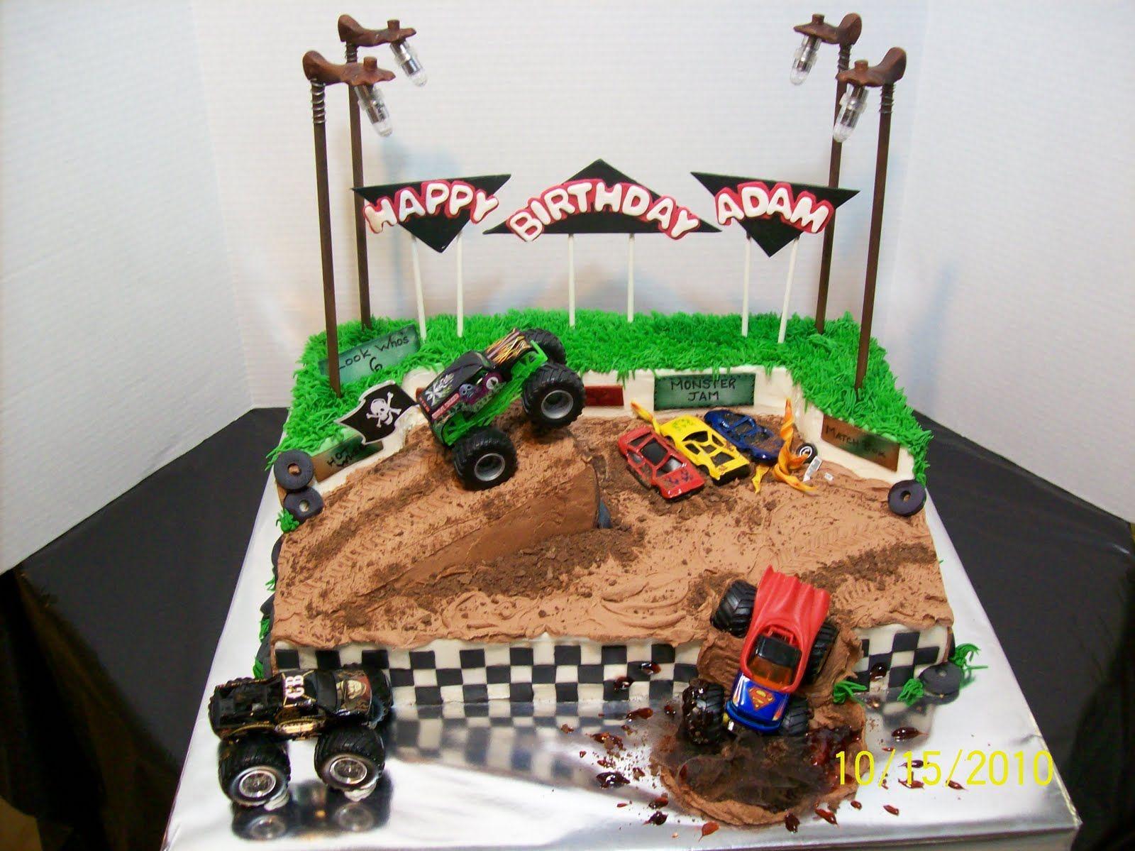 Grave digger monster truck monster jam birthday party