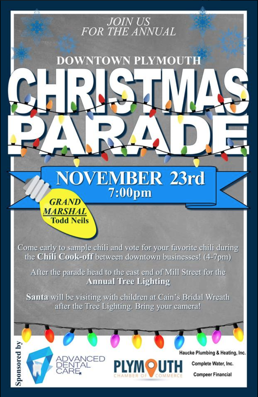 Advan Ed Dental Care Clinic Plymouth Is Sponsoring This Year S Christmas Parade Join Us And Have Fun Cerec Plymoutha Dental Care Clinic Dental Care Dental