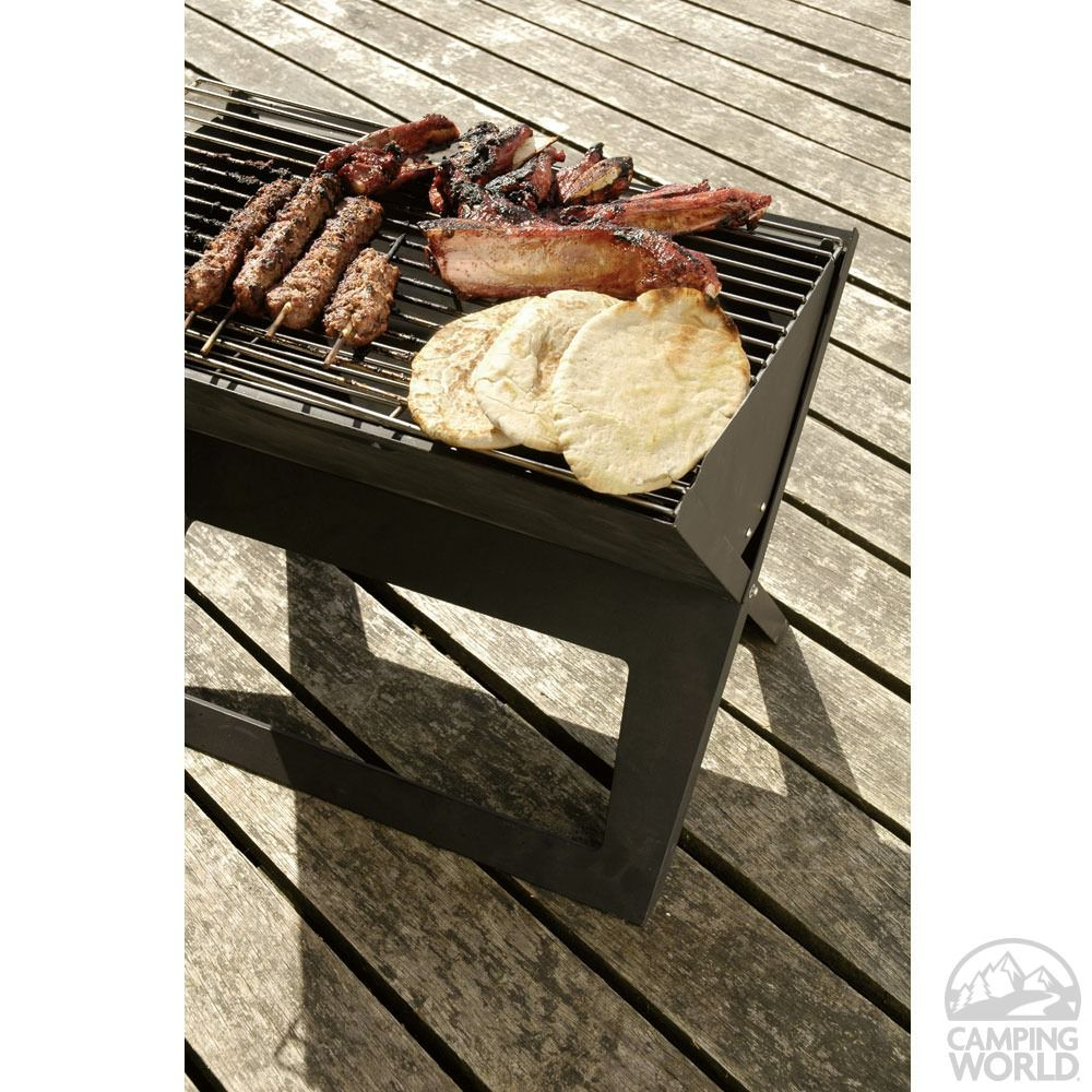 Hot Spot Notebook Charcoal Grill - Well Traveled Living 60508 - Charcoal Grills - Camping World