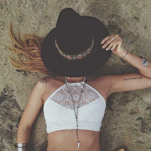 Estilo Boho  Photography | Girl | Model | Hippie | Boho | Gypsy | Style | Fashion | Festival