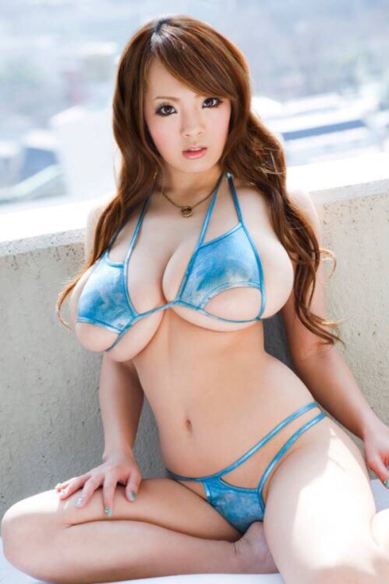 Rascal Pick Hitomi Tanaka Long Hair Top Heavy Asian Beauty Busty