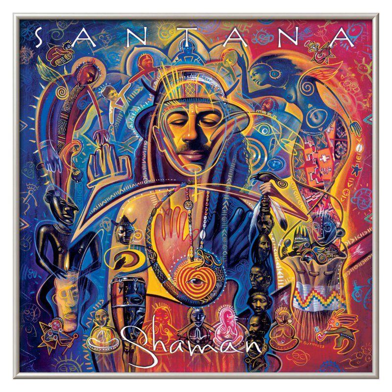 Shaman Santana: Art.com Santana Shaman Wall Art - 14379084