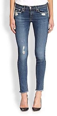 1a802d56b19862 Rag & Bone Rag& Bone Rag& Bone Women's La Paz Distressed Skinny Jeans
