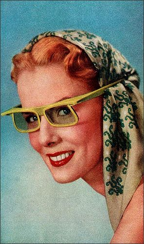 1951 Polaroid sun glasses
