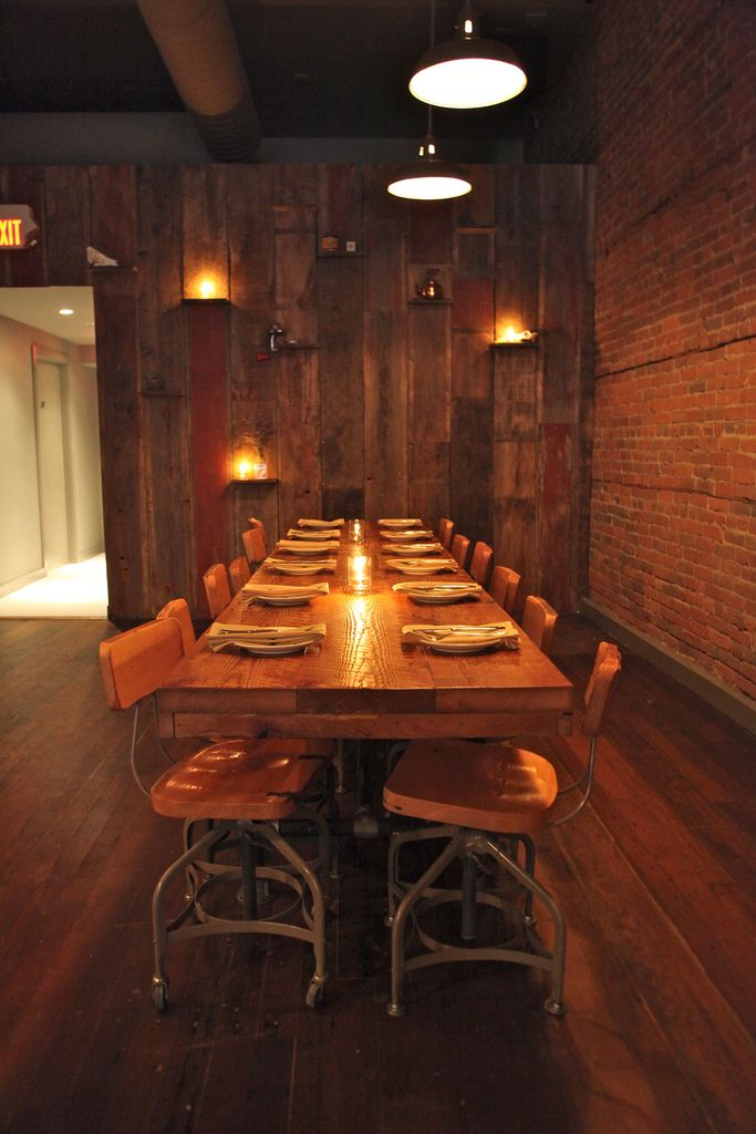 reclaimed furniture vancouver. Wildebeest Restaurant Vancouver : Scout Magazine...reclaimed Wood Wall. Reclaimed Furniture