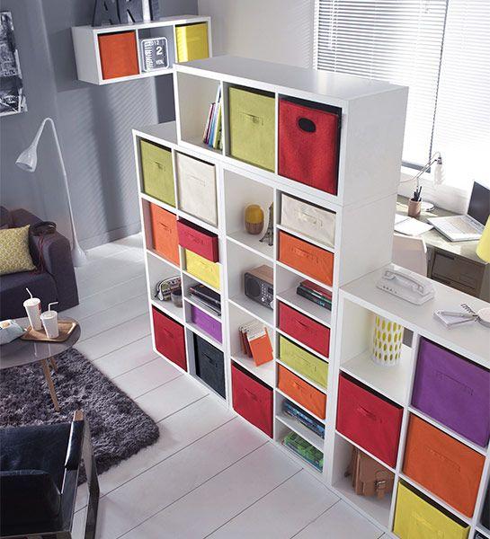 Idees Decoration Facile Separer Les Espaces Cloison Amovible Cloison Coulissante Cloison