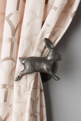 Anthropologie Home Curtains Rabbit Decor Bunny Decor