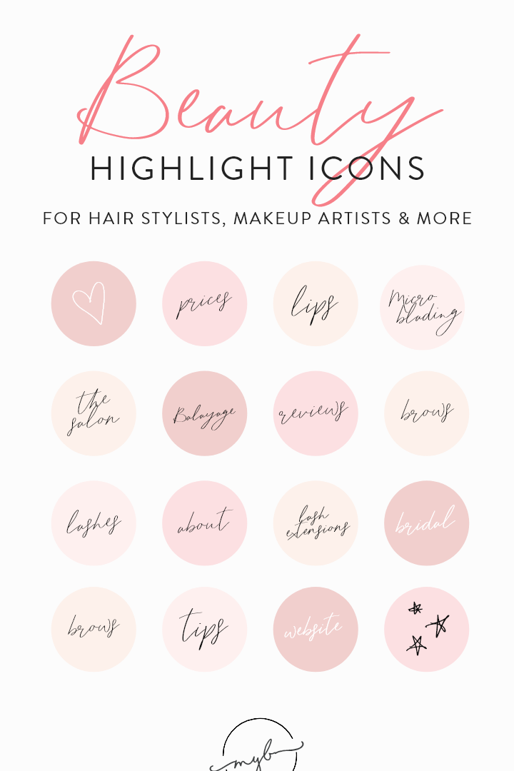 Beauty Instagram Highlight Icons 70 Instagram Text Highlights Highlight Covers And Icons For In 2020 Instagram Highlight Icons Instagram Story Instagram Template