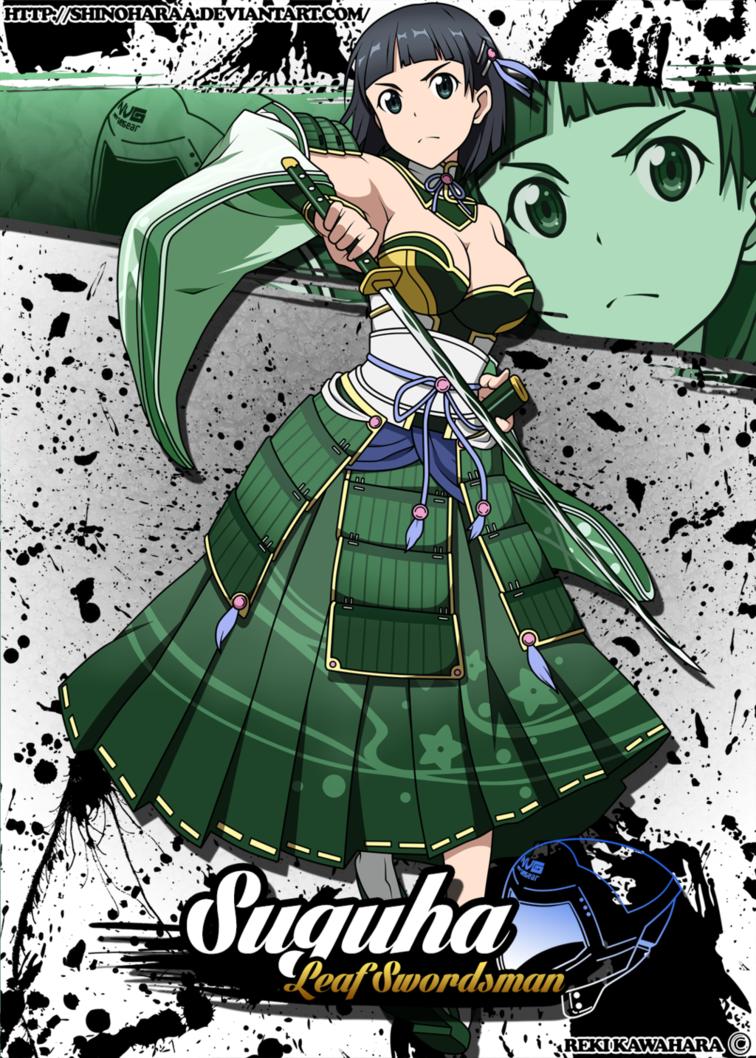 Suguha Kirigaya by Shinoharaa   Arte de anime, Arte manga